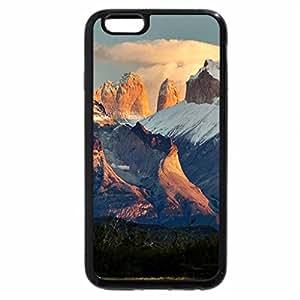 iPhone 6S / iPhone 6 Case (Black) SUNRISE AT THE PEAKS
