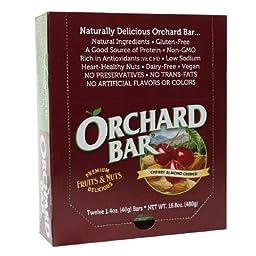 Orchard Bars Fruits & Nuts, Cherry Almond Crunch Bar, 12 pk 1.4 oz (476.27 g)