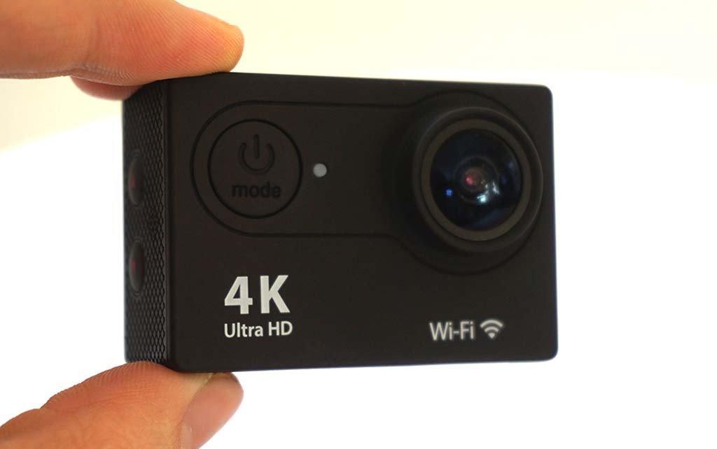 Buy 4K Ultra HD 16 MP WiFi Waterproof Action Camera (Black) Online ...
