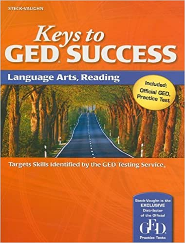 Keys to GED Success: Student Edition Language Arts, Reading