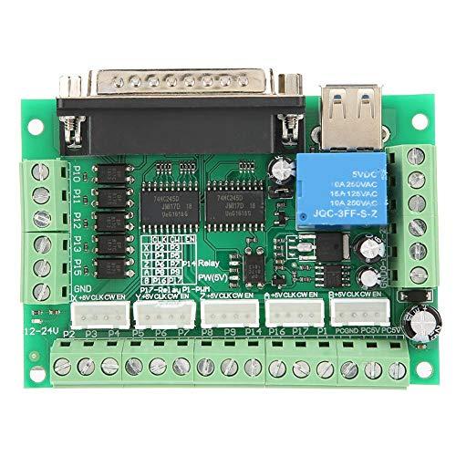 5-Axis Interface Breakout Board für Stepper CNC Motor Driver Mill mit USB Kabel