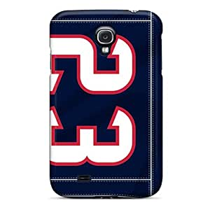 Durable Defender Case For Galaxy S4 Tpu Cover(houston Texans)
