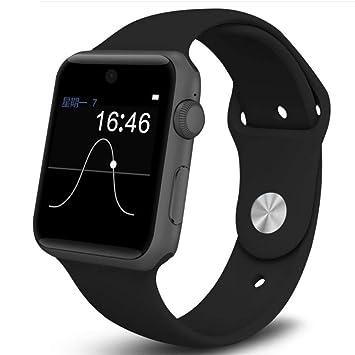 HRRH Reloj Inteligente Bluetooth SmartWatch Cuadrado ...