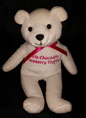 Cheesecake Factory White Chocolate Raspberry Truffle Bear Plush (White Raspberry Cakes)