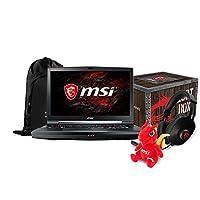 "MSI GT75 TITAN-094 17.3"" FHD Gaming Laptop - Intel Core i9-8950HK, GTX1080,16GB DDR4, 1TB HDD,Mechanical Keyboard,Win10PRO, VR Ready + Gaming Bundle"