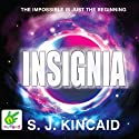 Insignia Audiobook by S. J. Kincaid Narrated by Hugo Harrold-Harrison