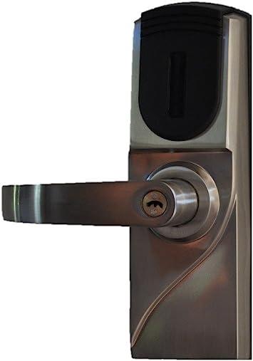 Amazon Com Metechs Keyless Electronic Rfid Card Fob Reader Weatherproof Door Lock Mid300 Left Hand Camera Photo