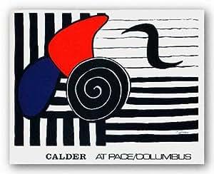 helisse, en Ritmo por Alexander Calder Póster