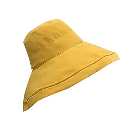 6cf25241589 Chapeau Femme Été Chic coréen Vague Petit Chapeau Frais Couleur Unie  Sauvage Réglable Visière Chapeau de