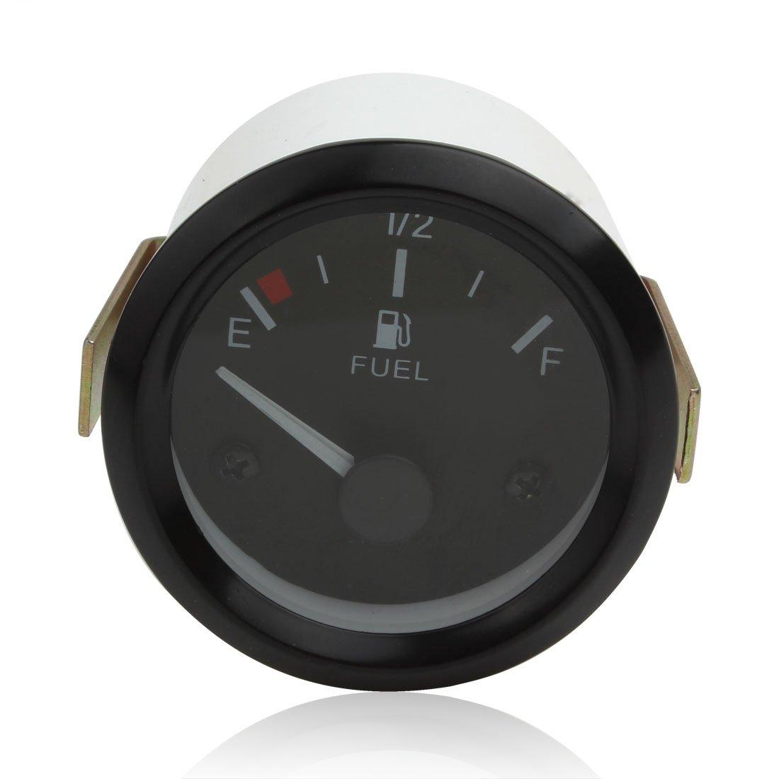 Auto Instruments Jauge de Niveau de Carburant Universelle + Capteur de Carburant, Pointeur E-1 / 2-F ePathChina