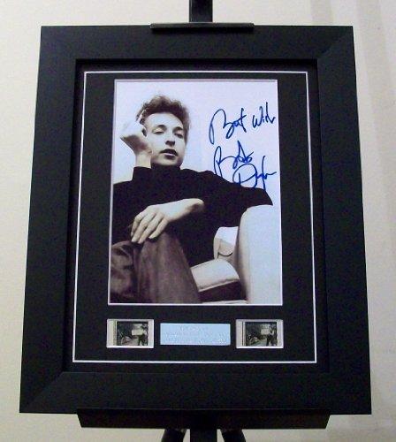 Bob Dylan Signed Memorabilia Framed (Bob Dylan Signed)