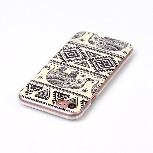 inShang iPhone 7 4.7 Funda y Carcasa para iPhone 7 4.7 inch case iPhone7 4.7 inch móvil,Ultra delgado y ligero Material de TPU,carcasa posterior (Back case) con , 51