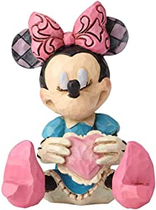 Enesco Disney Traditions by Jim Shore Minnie Mouse Miniature Figurine, 3""