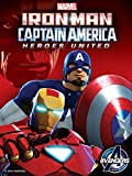 DVD : Iron Man & Captain America: Heroes United
