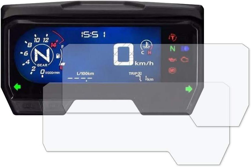 2019+ 2 x Ultra Clear Speedo Angels SAHO192UC Dashboard Screen Protector for Honda CBR650R