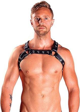 Arnes Cuero. Mister B X-Back Harness Premium: Amazon.es: Ropa y ...