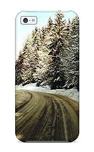 BMUtvRF7303IRwRF Case Cover Snow Path Iphone 5c Protective Case