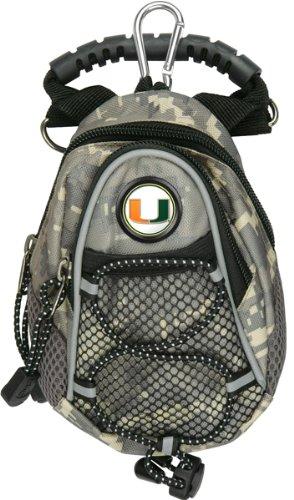 LinksWalker NCAA Miami Hurricanes - Mini Day Pack - - Camo Hurricanes Miami