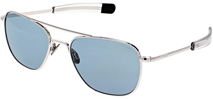 94d8ae44f019 Image Unavailable. Image not available for. Color: Randolph Engineering  White Gold AVIATOR ...