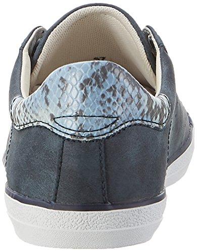 Esprit Miana Lace Up, Zapatillas para Mujer Azul (navy 400)