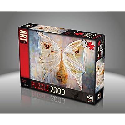 Sk Jigsaw Puzzle 2000 Pieces Ali Eminoglu Butterfly Effect