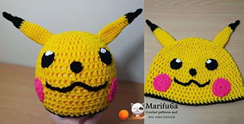 Crochet Pikachu Hat Crochet Pikachu Hat Kindle Edition By