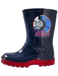 Boys Thomas and Friends Wellies Wellington Boots Blue UK Sizes Child 4-10
