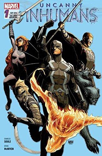 Uncanny Inhumans: Bd. 1: Kampf gegen die Zeit