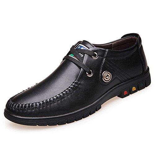 Driving da da Uomo Primavera Casual Uomo Business Stringate Moda Scarpe Scarpe Scarpe per Black Casual STwSqO4