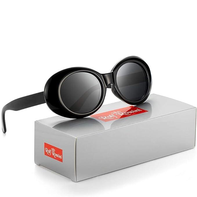 Amazon.com: Clout Gafas de sol ovaladas para mujer con marco ...