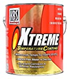 KBS Coatings 65525 Charcoal Metallic Xtreme Temperature Coating - 1 Gallon