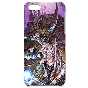 World of Warcraft Theme Cool and Unique Design Customized Slim Durable Hard Plastic 3D Case for Iphone 5C waz68171