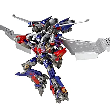 "Kaiyodo Special effects Revoltech TRANSFORMERS ""Dark of the Moon"" Optimus Prime Jet wing"