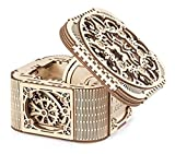 UGears Mechanical Models 3-D Wooden Puzzle - Mechanical Treasure Box