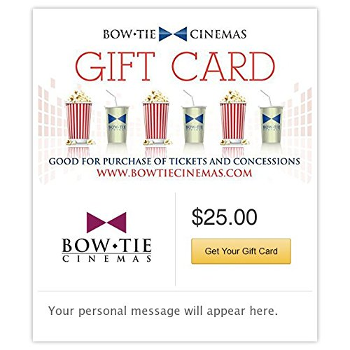 Bow Tie Cinemas Gift Cards - E-mail Delivery ()