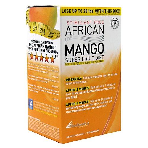 BioGenetics - African Mango Superfruit Diet - 120 Capsules