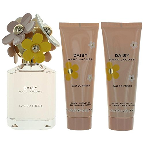 Marc Jacobs Daisy So Fresh 3 Piece Gift Set for (Marc Jacobs Set)