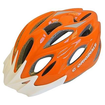 X Colores C ORIGINALS S Casco Bicicleta Naranja