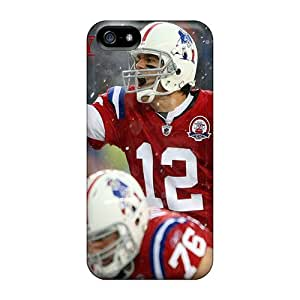 Excellent Iphone 5/5s Case Tpu Cover Back Skin Protector New England Patriots