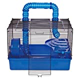 Ware Manufacturing Tube Time Two Level Hamster Home, 20'' - Blue