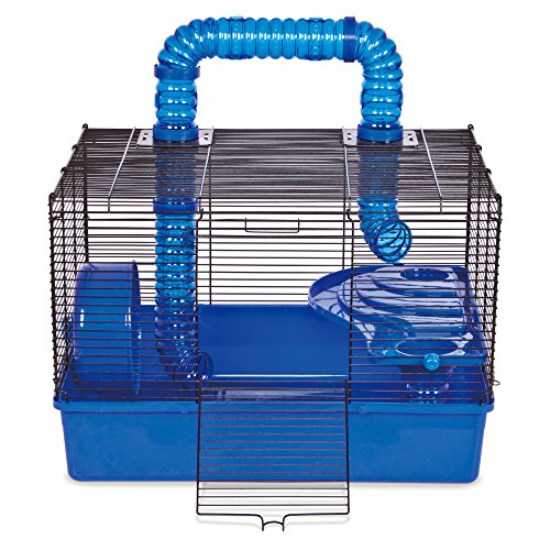Ware Manufacturing Tube Time Two Level Hamster Home, 20″ – Blue For Sale