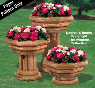 Landscape Planter Trio Wood Project ()