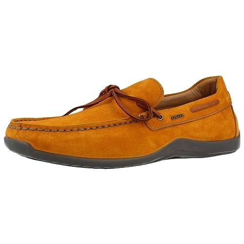 Mocasines para hombre, color Naranja , marca GEOX, modelo U XENSE MOX: Amazon.es: Zapatos y complementos