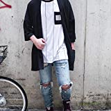 Men's Long Oversized Kimono Cardigan Noragi Japan