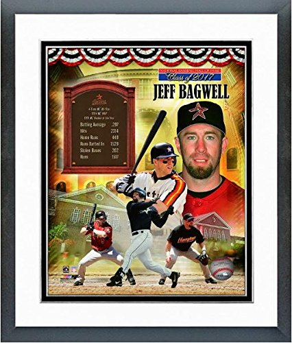 Jeff Bagwell Houston Astros Hall of Fame Legends Composite Photo (Size: 12.5