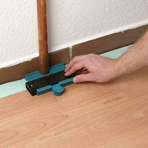 Contour Profile Gauge Tiling Laminate Tiles Edge Shaping Wood Measure Ruler ABS Contour Gauge Duplicator Arc Gauge And Ruler Pen