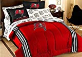 Officially Licensed NFL Tampa Bay Buccaneers Full Bedding Set