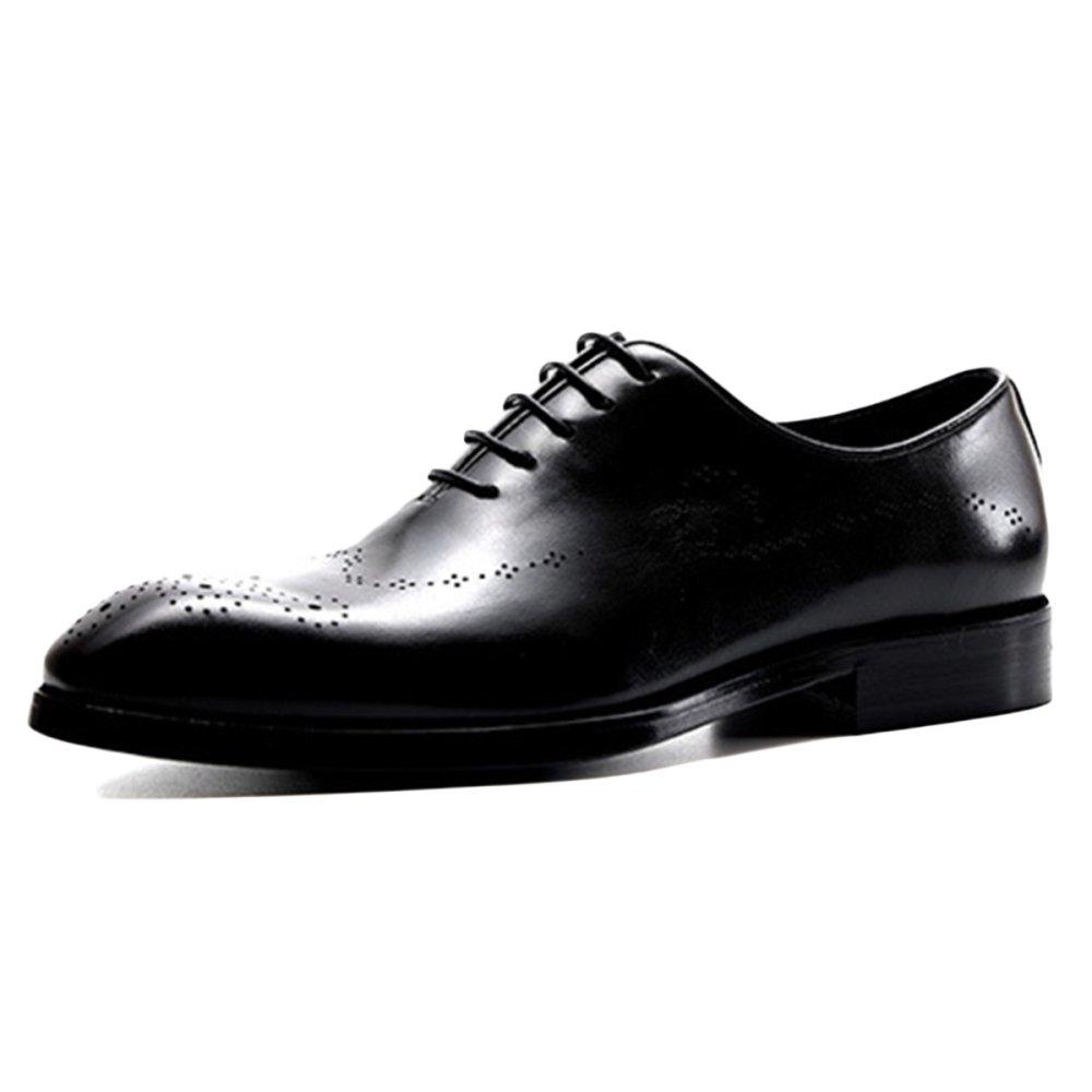 Brogue Schuhe Für Leder Männer Rutschfeste Hochzeit Leder Für Hochzeit Rutschfeste Spitz ... c939db