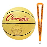 Champion Sports Weighted Basketball Trainer Yellow with 1 Performall Lanyard HT74-1P