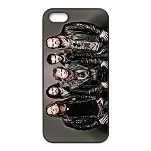 iPhone 5,5S Phone Case Black Edguy RJ2DS1026803